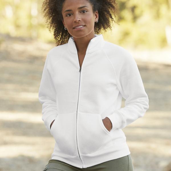 Felpa Lady jacket zip lunga