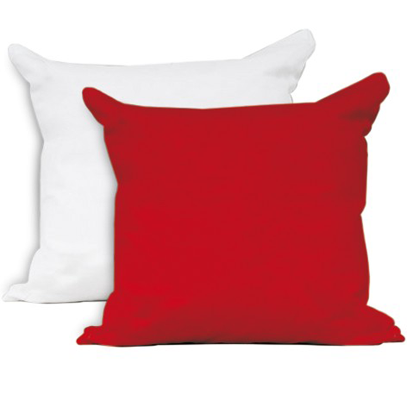 Cuscino bicolore in cotone