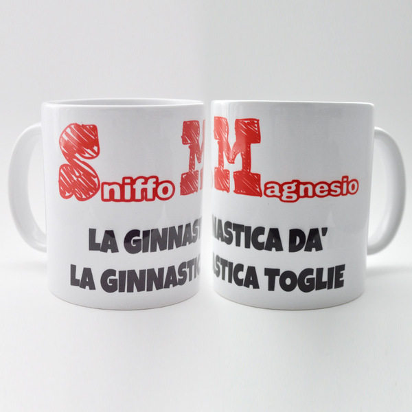 Tazza Mug - Sniffo magnesio